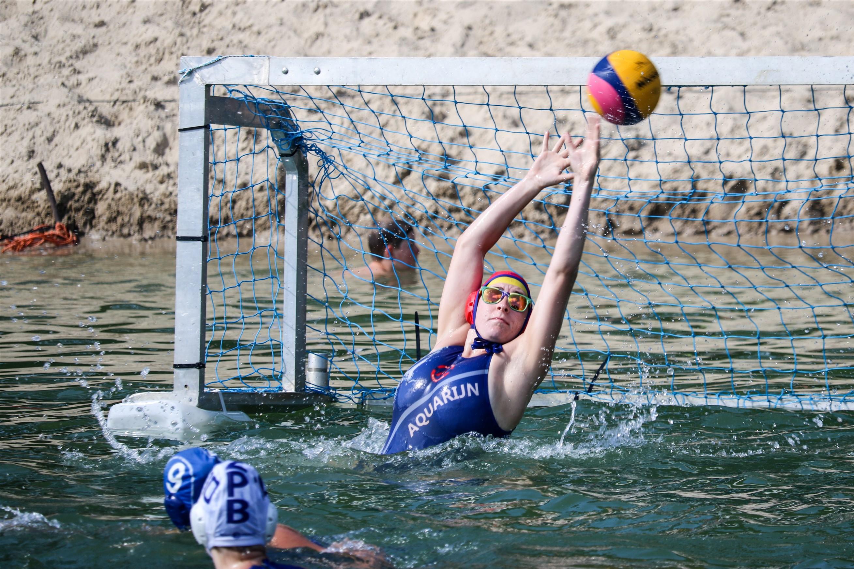 Moby dick 2018 waterpolo toernooi Schoonebeek keeper